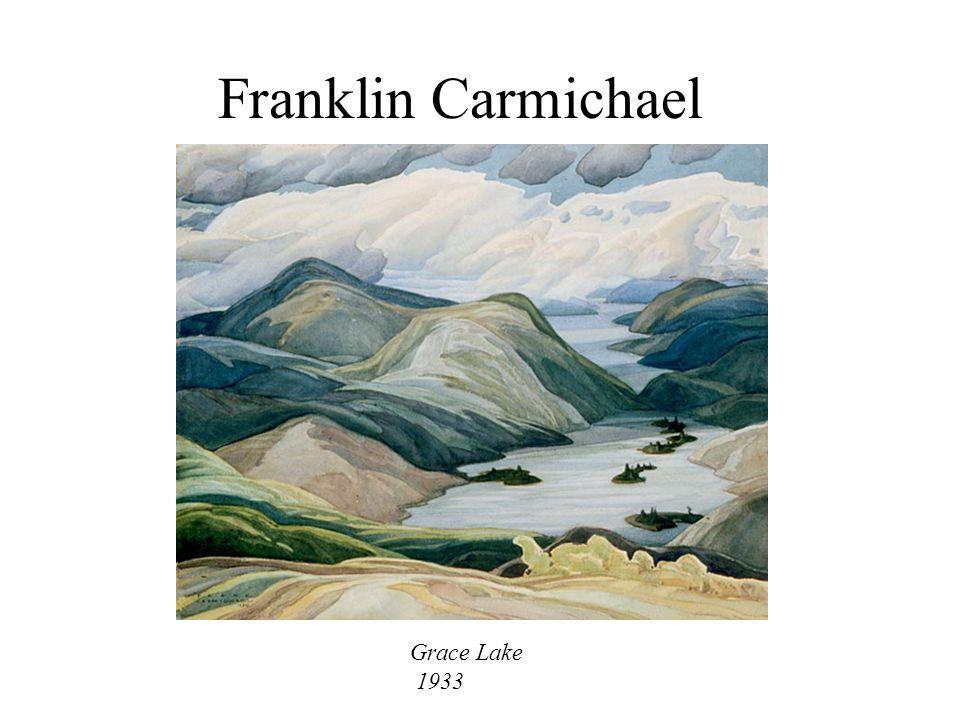 Franklin Carmichael Grace Lake 1933