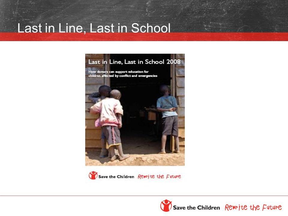 Last in Line, Last in School