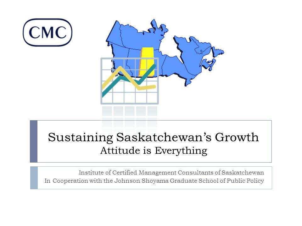 Observations  Saskatchewan's recent success is due to both rural and urban economies:  Exports originate in rural Sask.