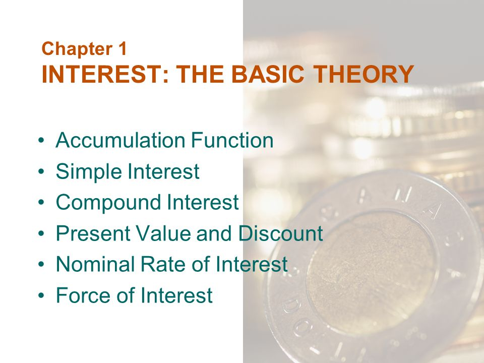 8.1 Basic Concepts We know how to compute present value of contingent payments Life tables are sources of probabilities of surviving We can use data from life tables to compute present values of payments which are contingent on either survival or death