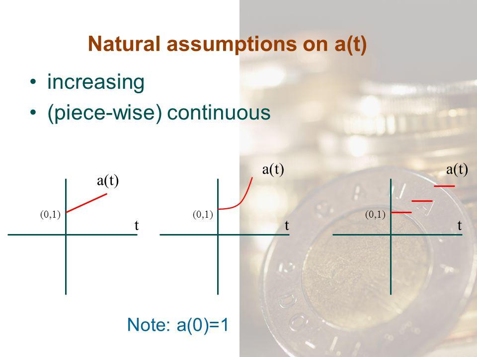 2) Decreasing annuity with P = n, Q = -1 Series of n payments k-th payment = n – k + 1 k=1,2,…, n 0132 n nn-1n-2 1 …..