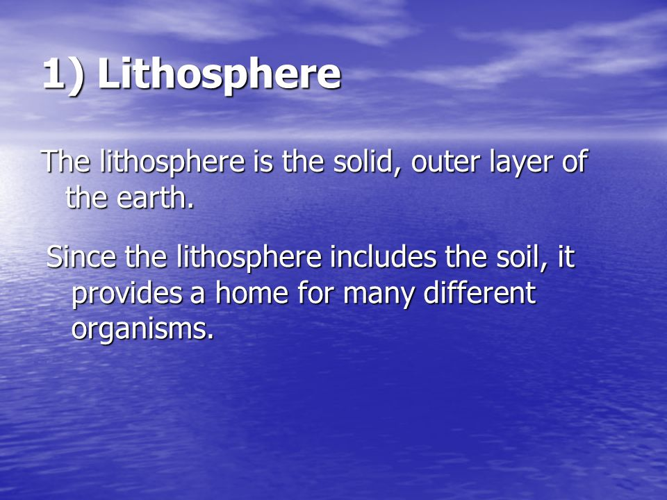 How do human actions affect the lithosphere.
