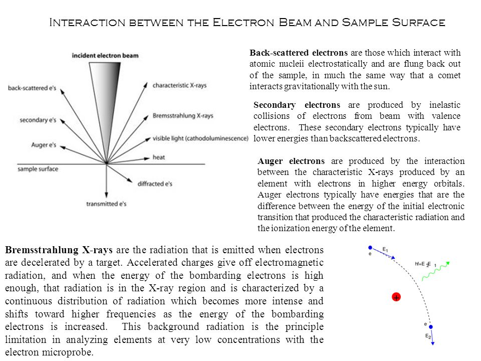 Secondary electrons are produced by inelastic collisions of electrons from beam with valence electrons. These secondary electrons typically have lower