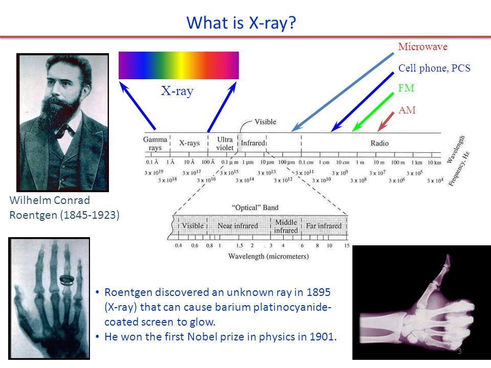 Wilhelm Conrad Roentgen (1845-1923) What is X-ray.