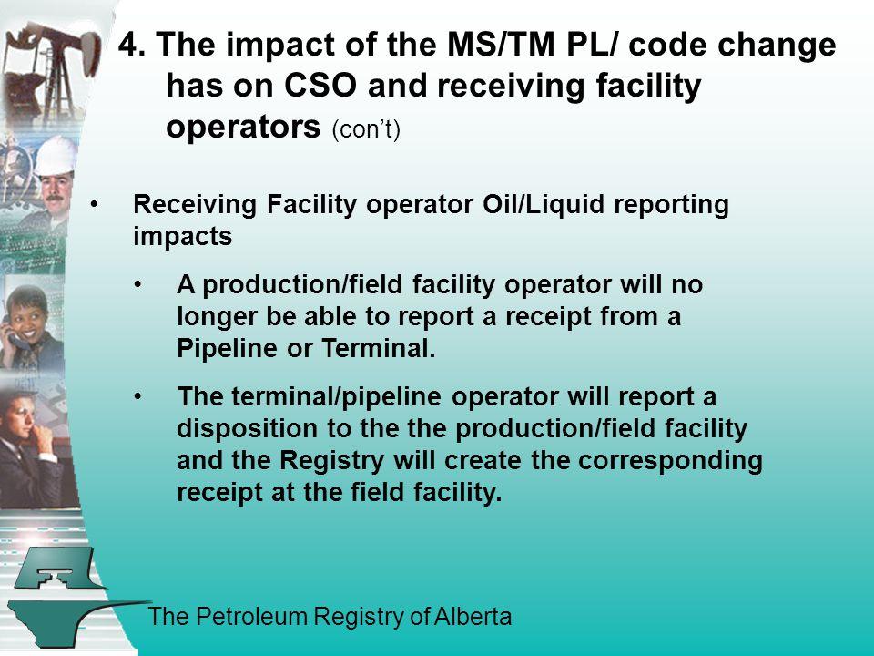 The Petroleum Registry of Alberta 4.