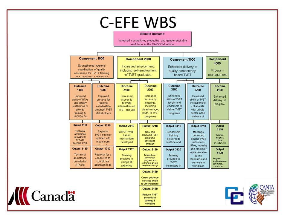 C-EFE WBS
