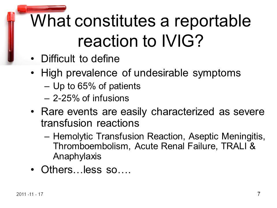 2011 -11 - 17 48M4-01 Reactions Key Points Related Immunoglobulin