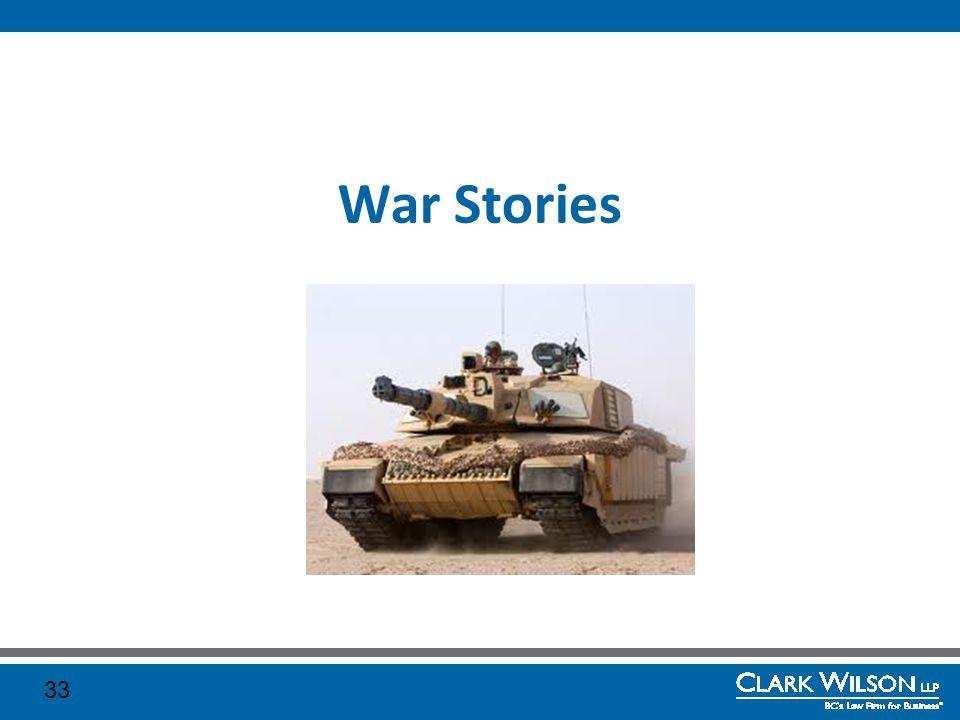 War Stories 33