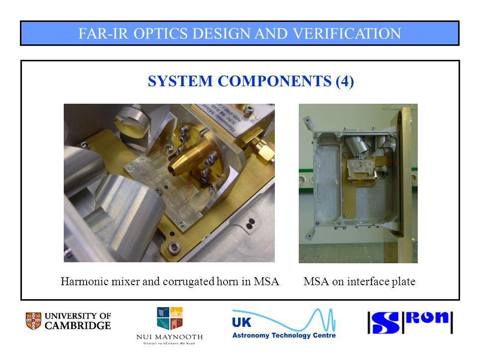 FAR-IR OPTICS DESIGN AND VERIFICATION MSA RESULTS (19) Asymmetric, -5mm