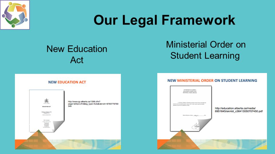 Ministerial Order and the 3 Es Student Voice 3 Es Thank you Chinook's Edge School Division.
