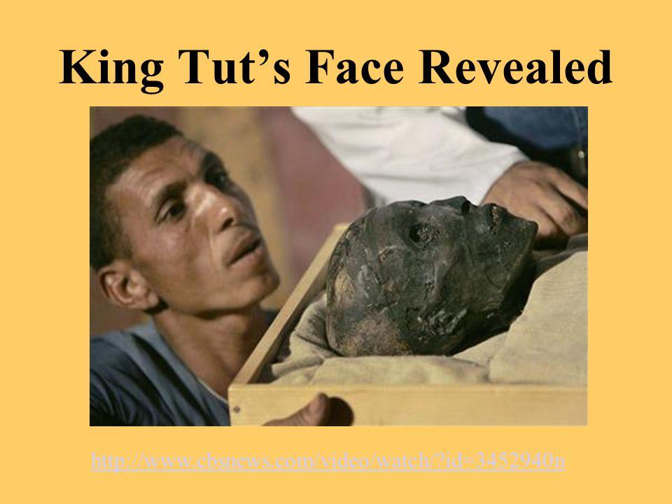 King Tut's Face Revealed http://www.cbsnews.com/video/watch/?id=3452940n