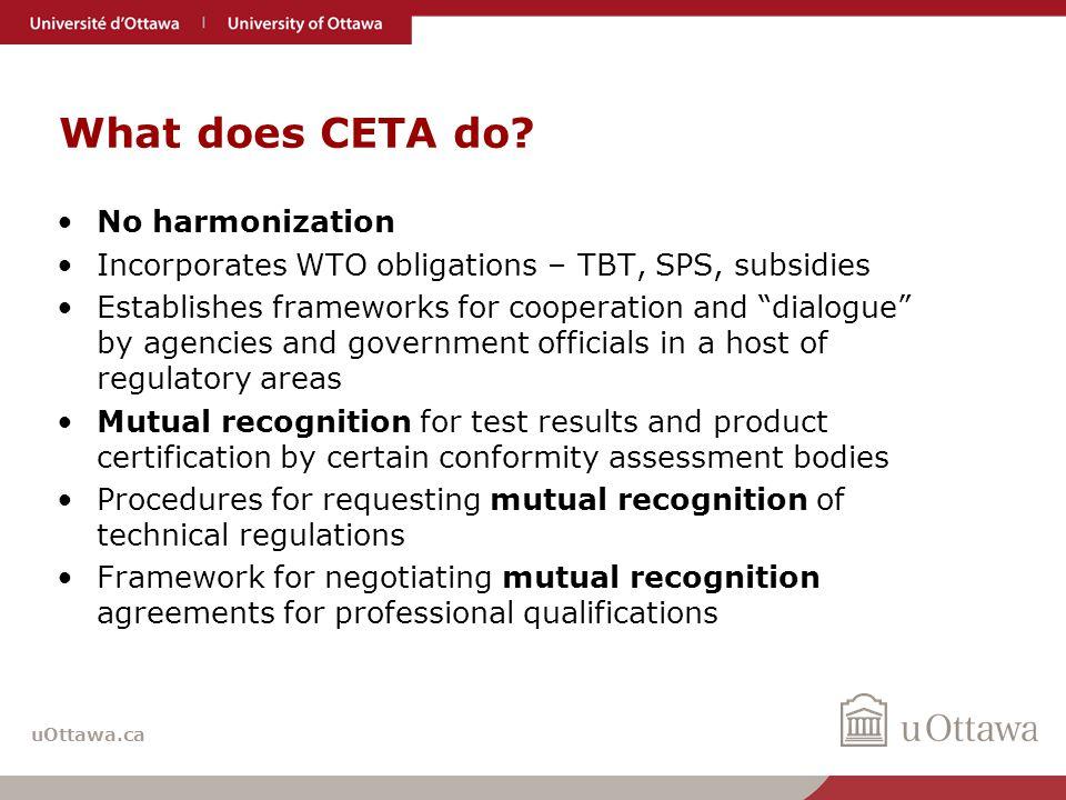 uOttawa.ca Regulatory cooperation – coherence.