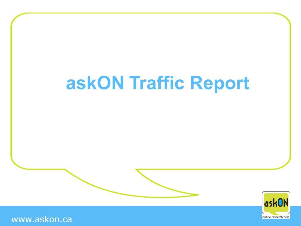 www.askon.ca askON Traffic Report