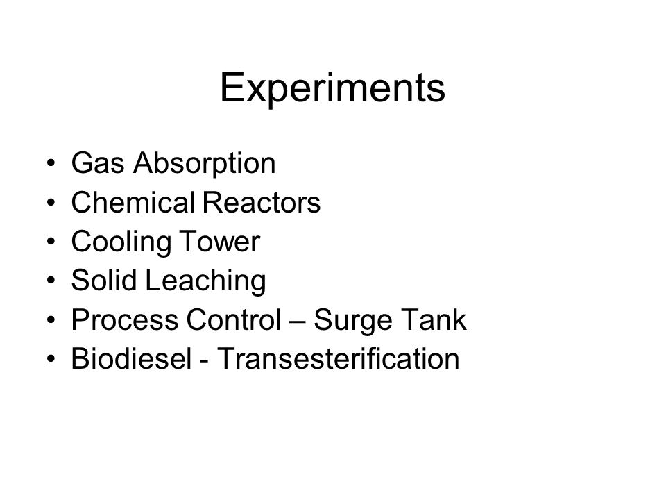 Write-ups / Reports Technical memo Brief report Formal report Lab notebook: during the experiments
