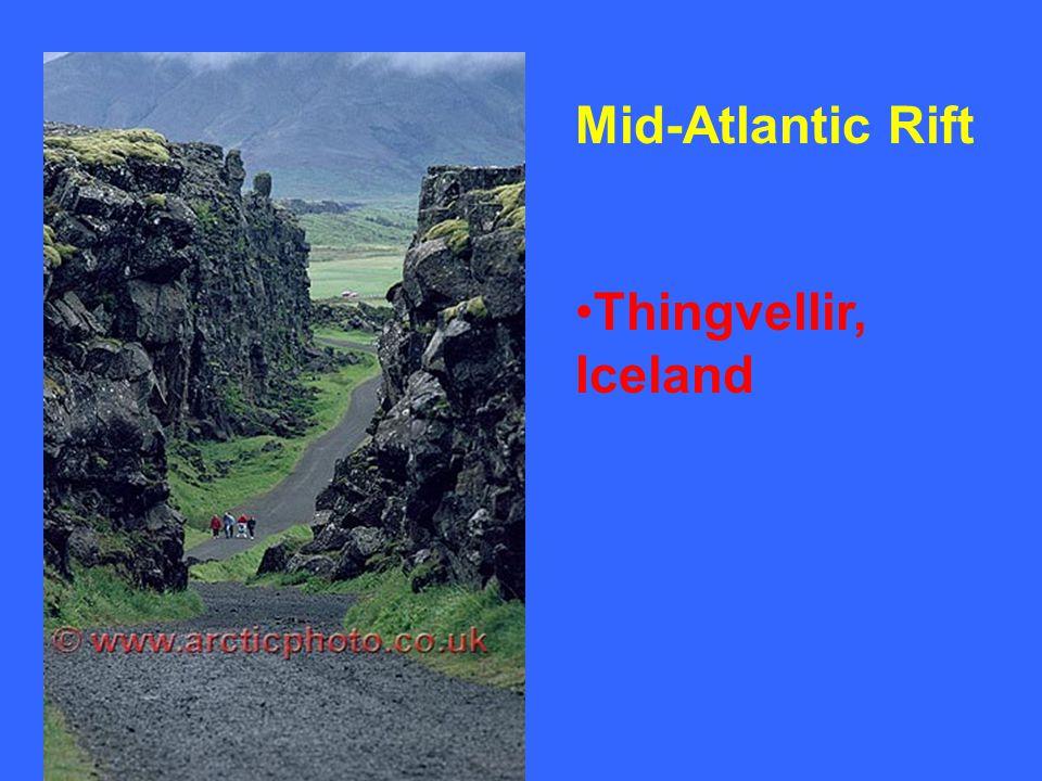 Mid-Atlantic Rift Thingvellir, Iceland
