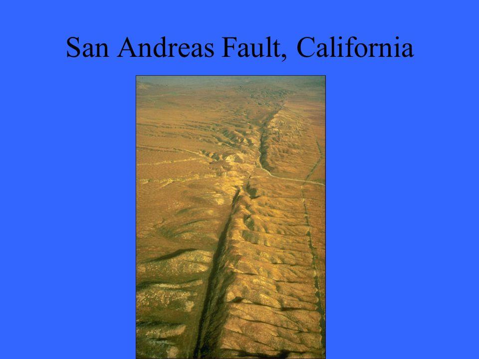 San Andreas Fault, California