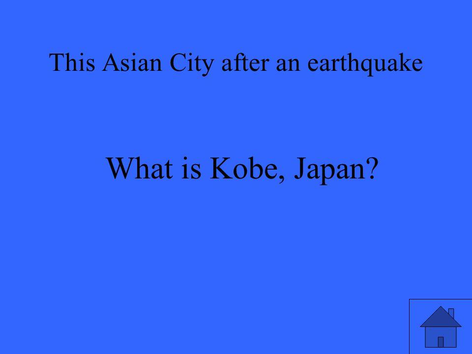 What is Kobe, Japan