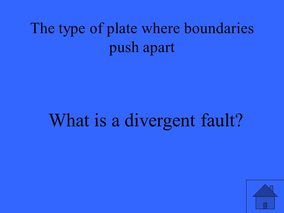 What is a divergent fault