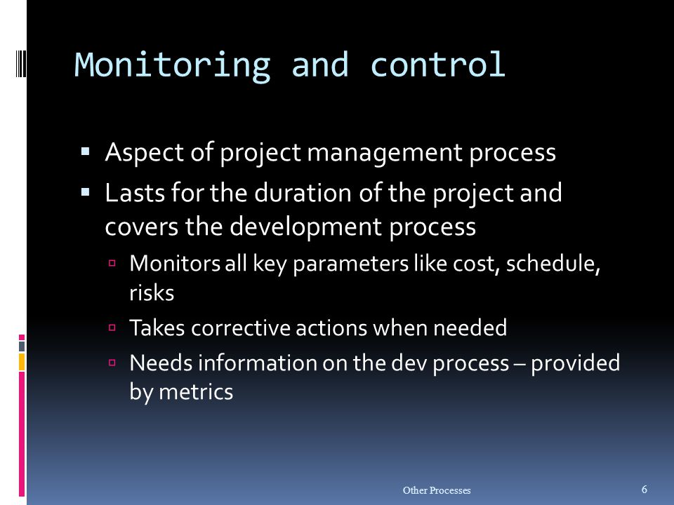 Baseline Management  What baselines are required to be defined and managed.