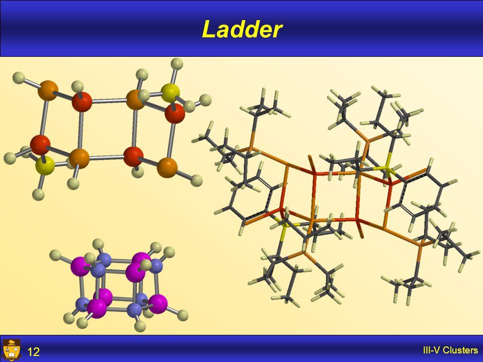 III-V Clusters 12 Ladder