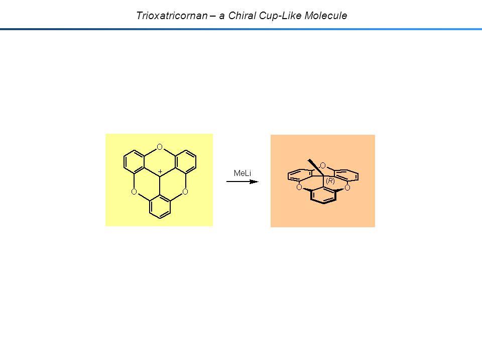 Trioxatricornan – a Chiral Cup-Like Molecule
