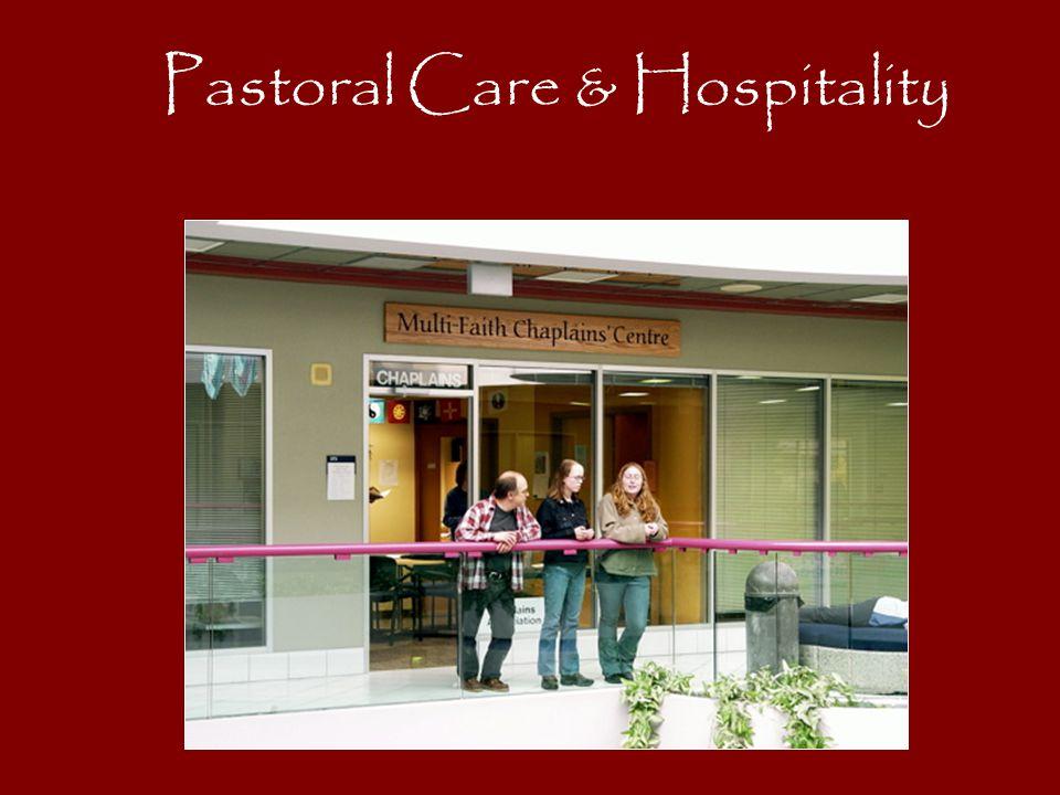 Pastoral Care & Hospitality