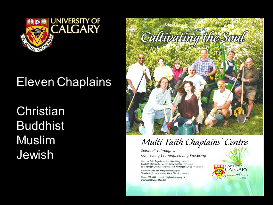 Eleven Chaplains Christian Buddhist Muslim Jewish