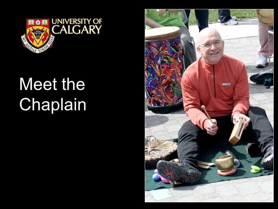 Meet the Chaplain