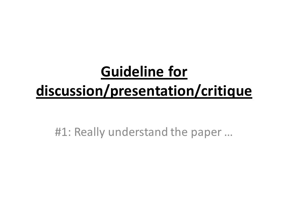 Use the same computer for both summary and commentary presentations Do not change file right before presentation