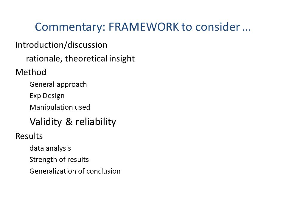Commentary The critical analysis could include (but not be limited to) some of the following: a.