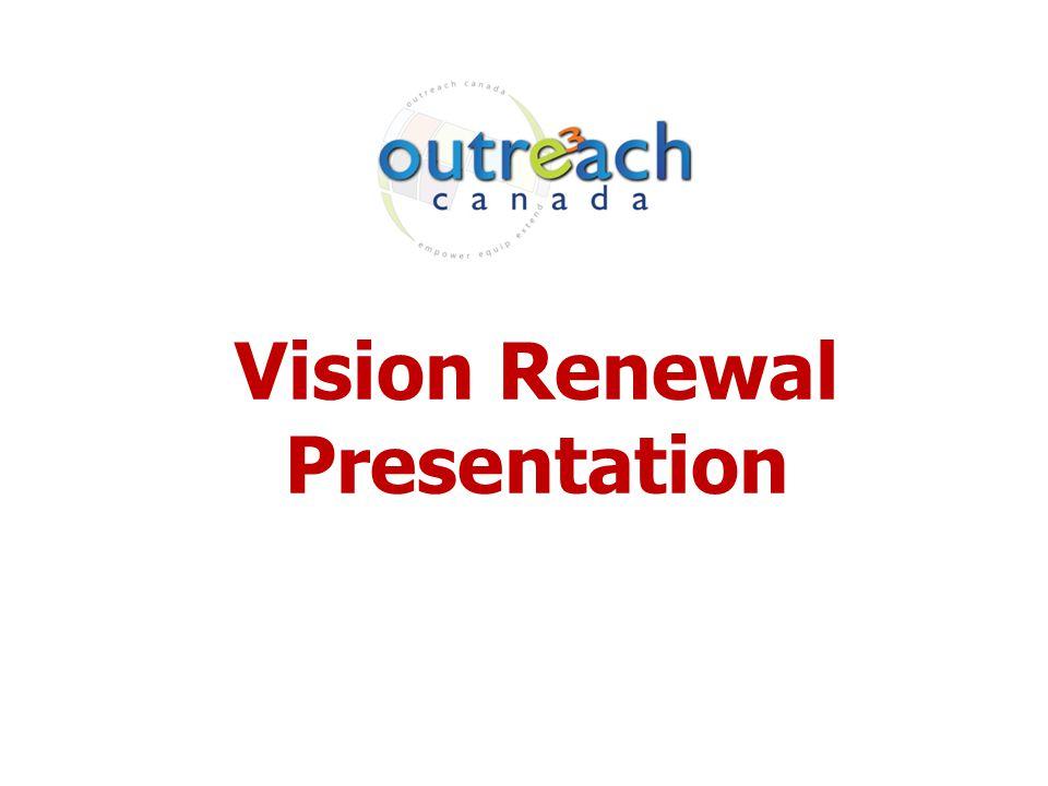Vision Renewal Presentation