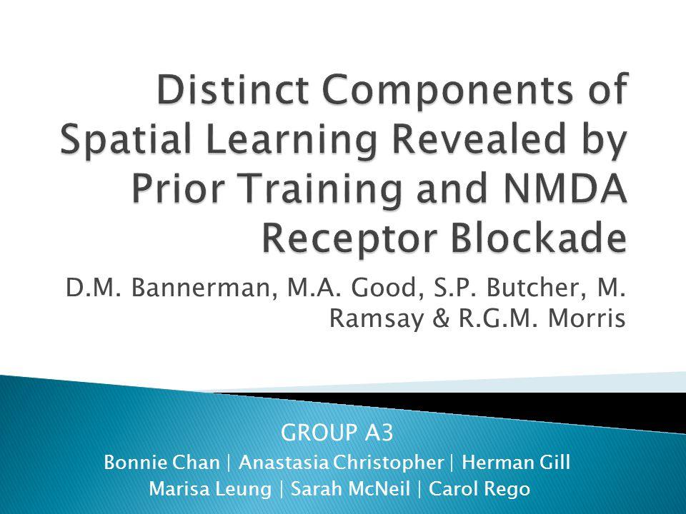 D.M. Bannerman, M.A. Good, S.P. Butcher, M. Ramsay & R.G.M.