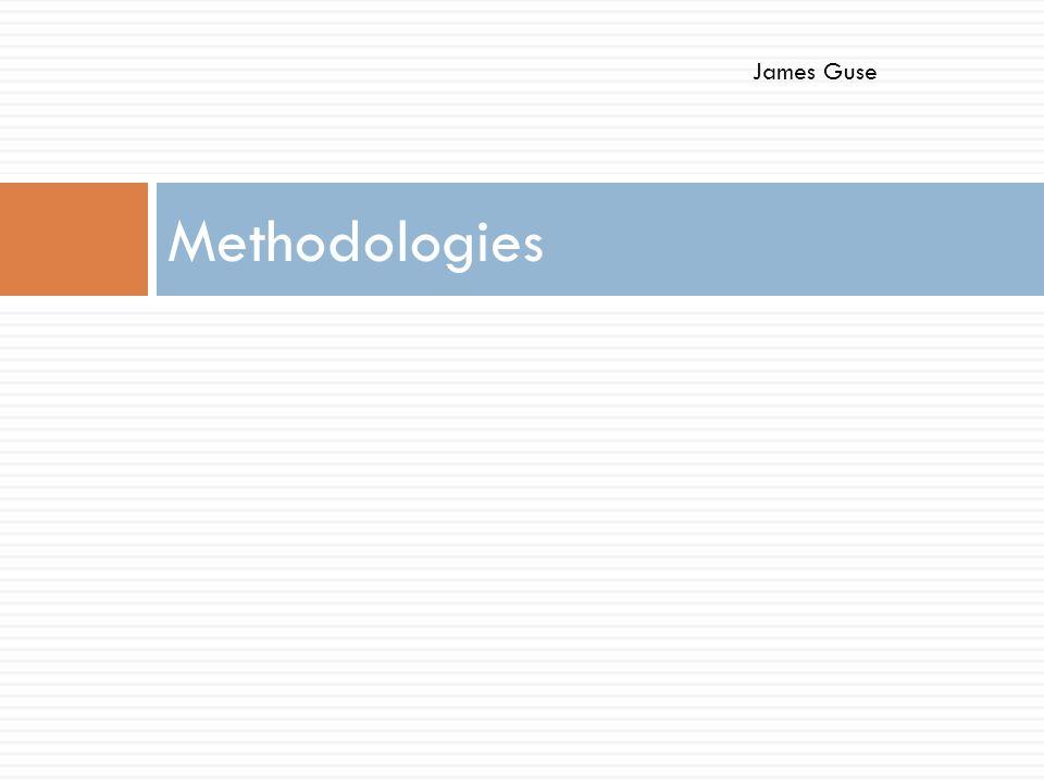 Methodologies James Guse