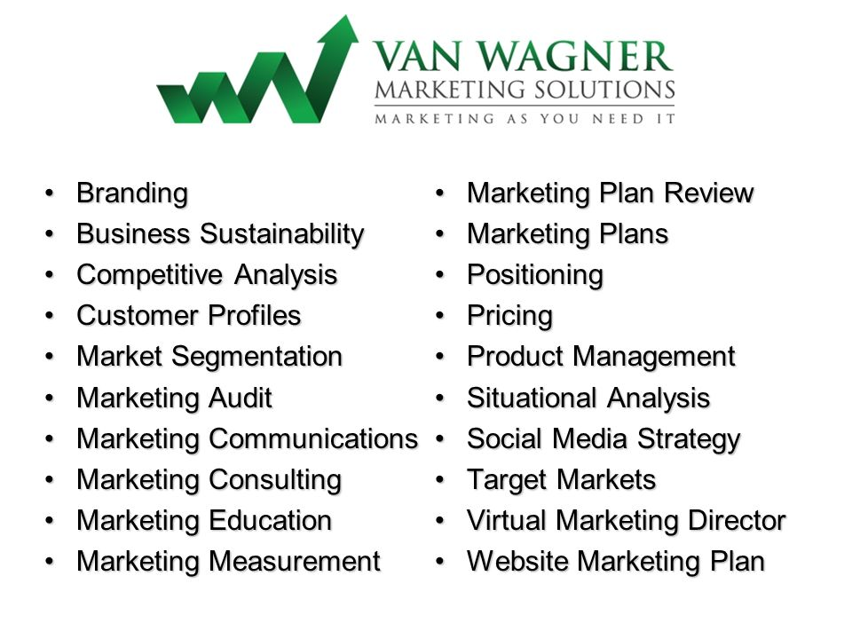 BrandingBranding Business SustainabilityBusiness Sustainability Competitive AnalysisCompetitive Analysis Customer ProfilesCustomer Profiles Market Seg