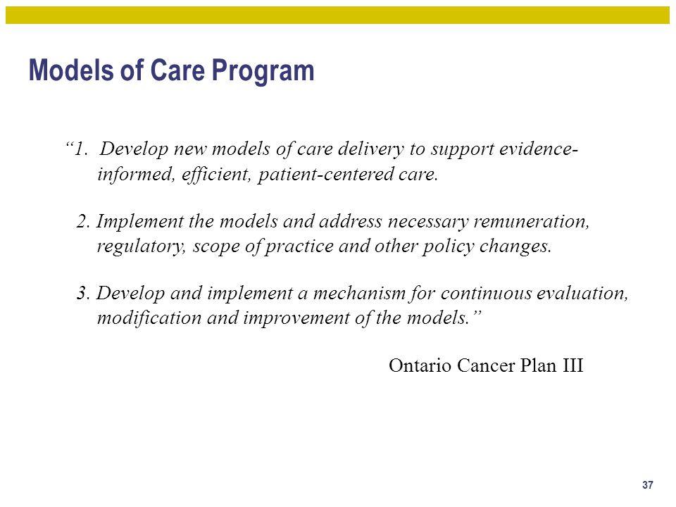 Models of Care Program 1.