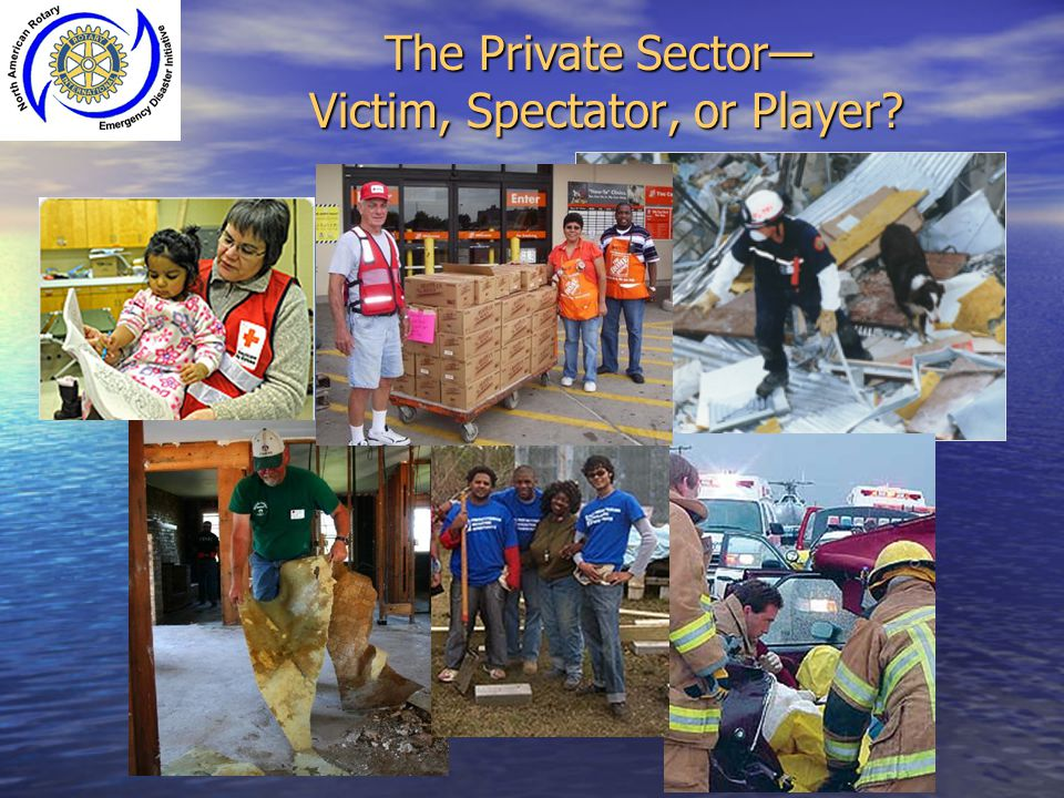 The Private Sector— Victim, Spectator, or Player?