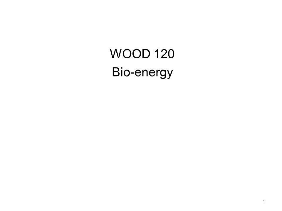 WOOD 120 Bio-energy 1