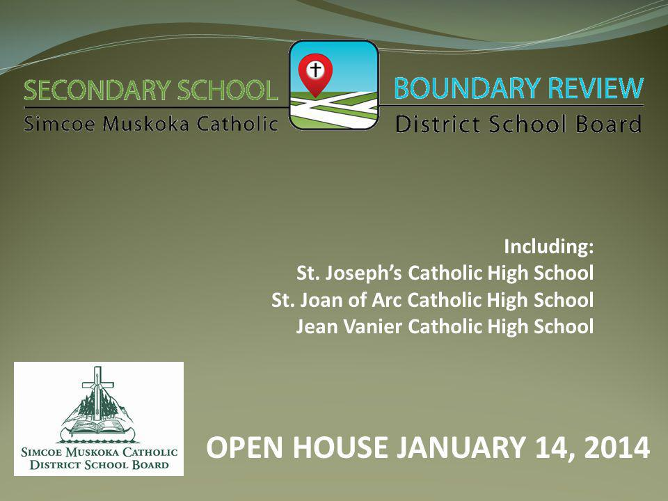Including: St. Joseph's Catholic High School St.