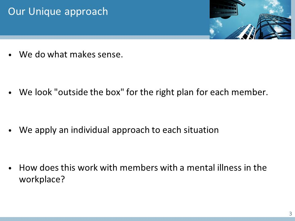 What to expect in the Early Assistance Process It all starts with a conversation between the member and the HCMS.