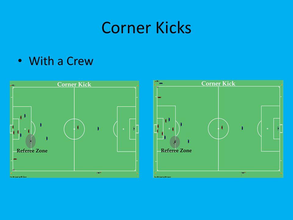 Corner Kicks With a Crew