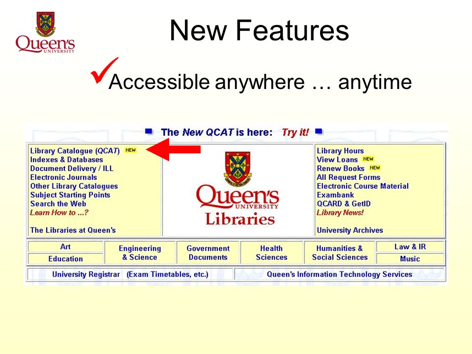 New Features Web interface great expectations