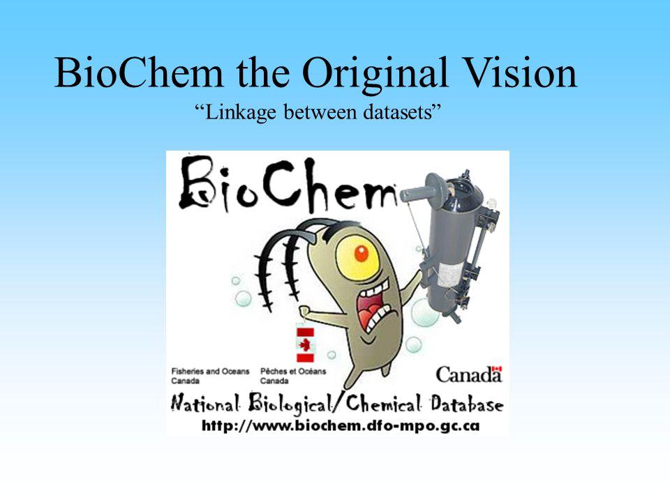 BioChem the Original Vision Linkage between datasets