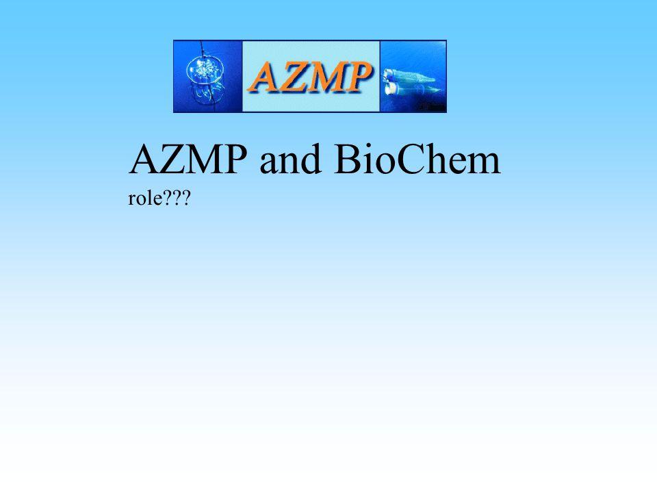 AZMP and BioChem role
