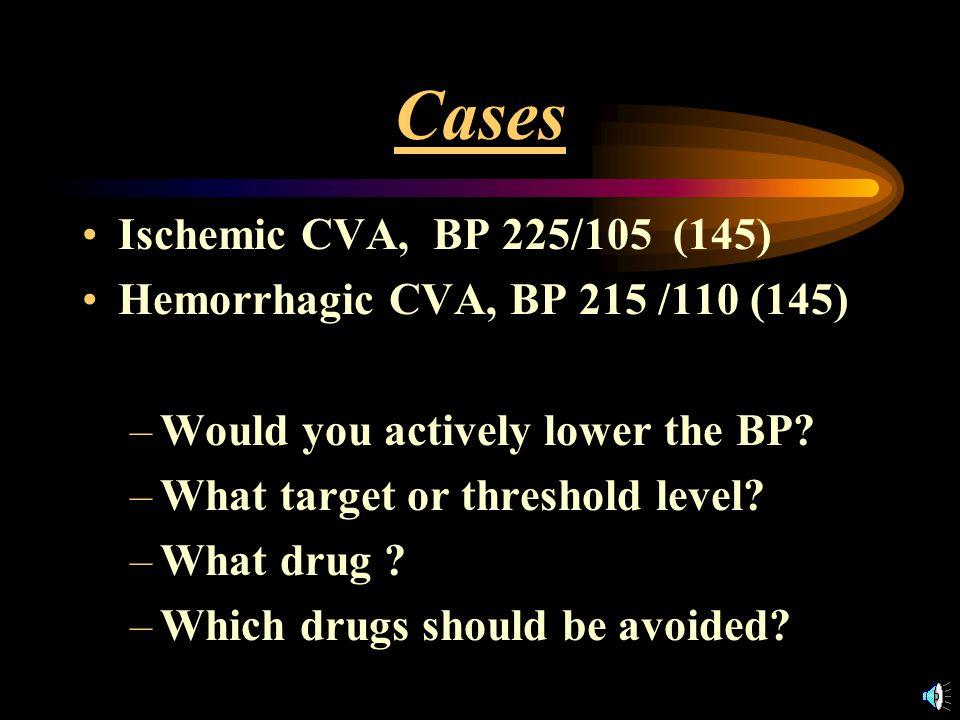 Stroke Protocols Aspiration pneumonia, UTI's DVT prophylaxis Glucose control Fever control BP management –avoidance of overtreatment