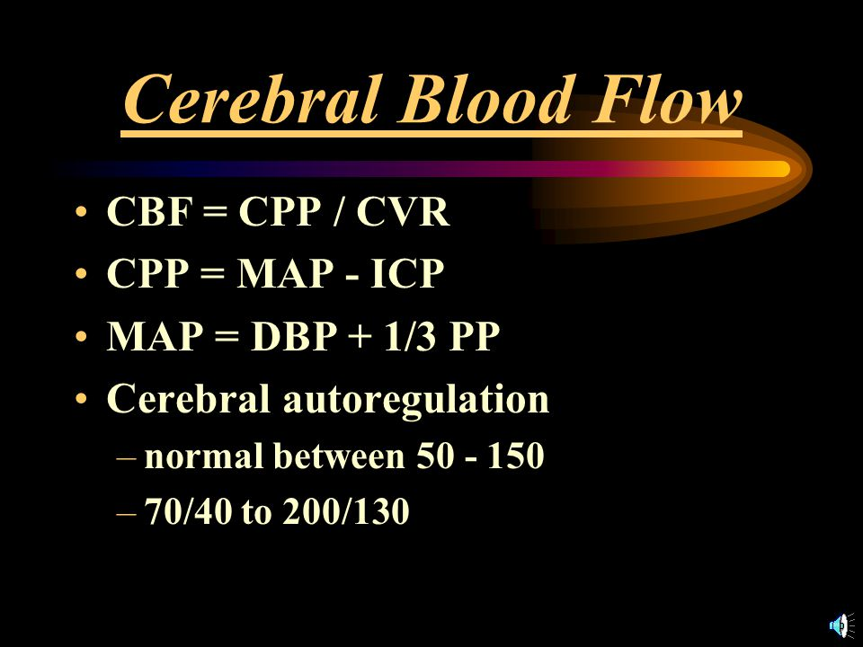 Lowering BP in Acute Stroke: Cons Acute hypertension is self-limited RISK OF ISCHEMIA –Reflex response to maintain CBF –Ischemic penumbra –Shift in autoregulation curve –More sensitive to BP decreases