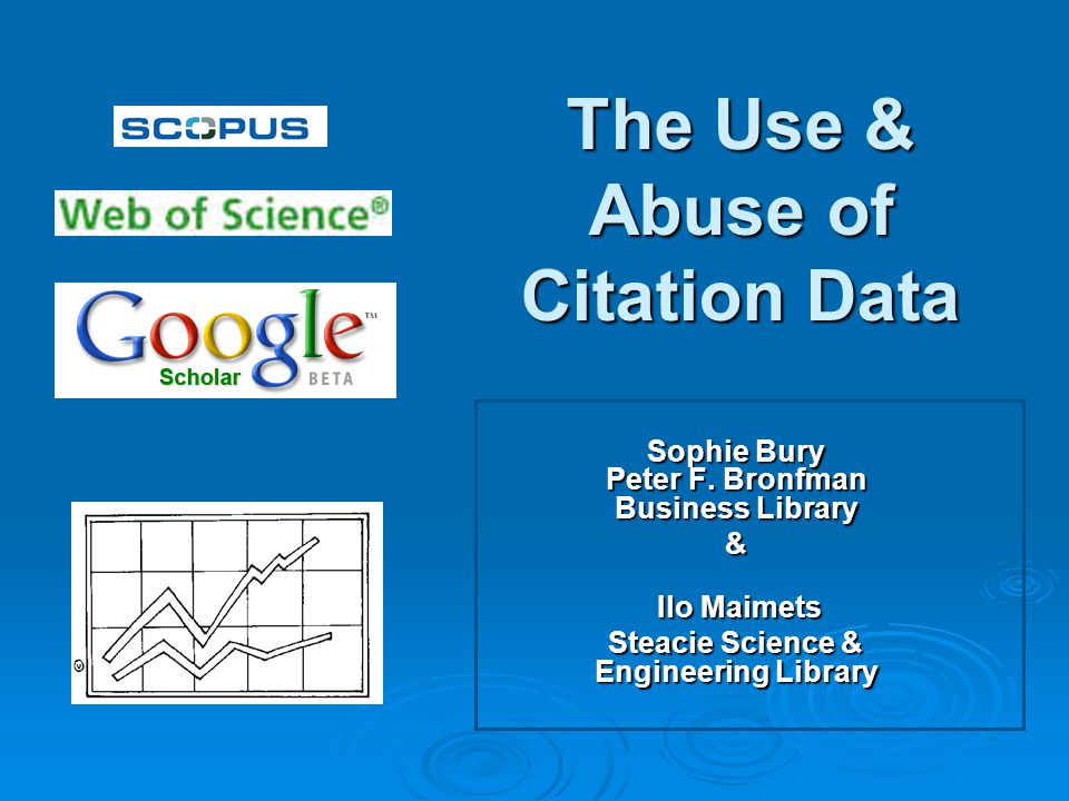 What is Citation Data.