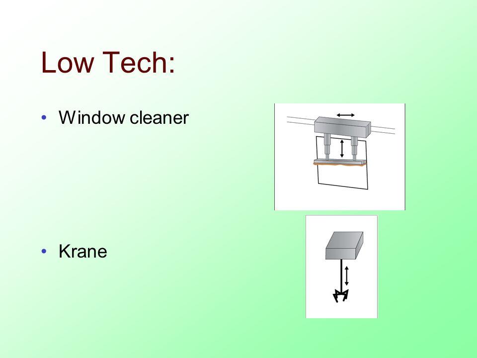 Low Tech: Window cleaner Krane