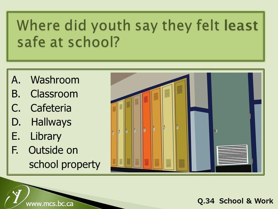 www.mcs.bc.ca A. Washroom B. Classroom C. Cafeteria D.