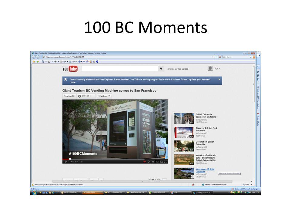 100 BC Moments