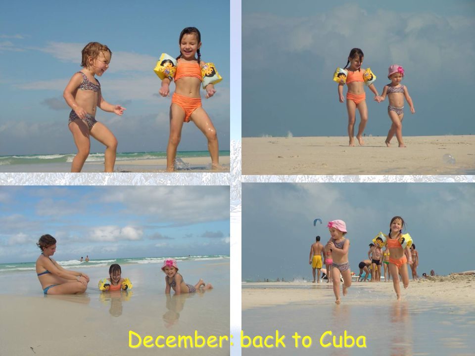 December: back to Cuba